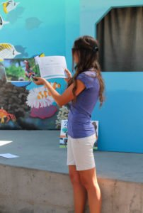 Zoology for Kids book reading at Aquarium of the Pacific