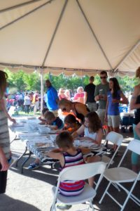 Zoology for Kids Activity at Winter in July 2016