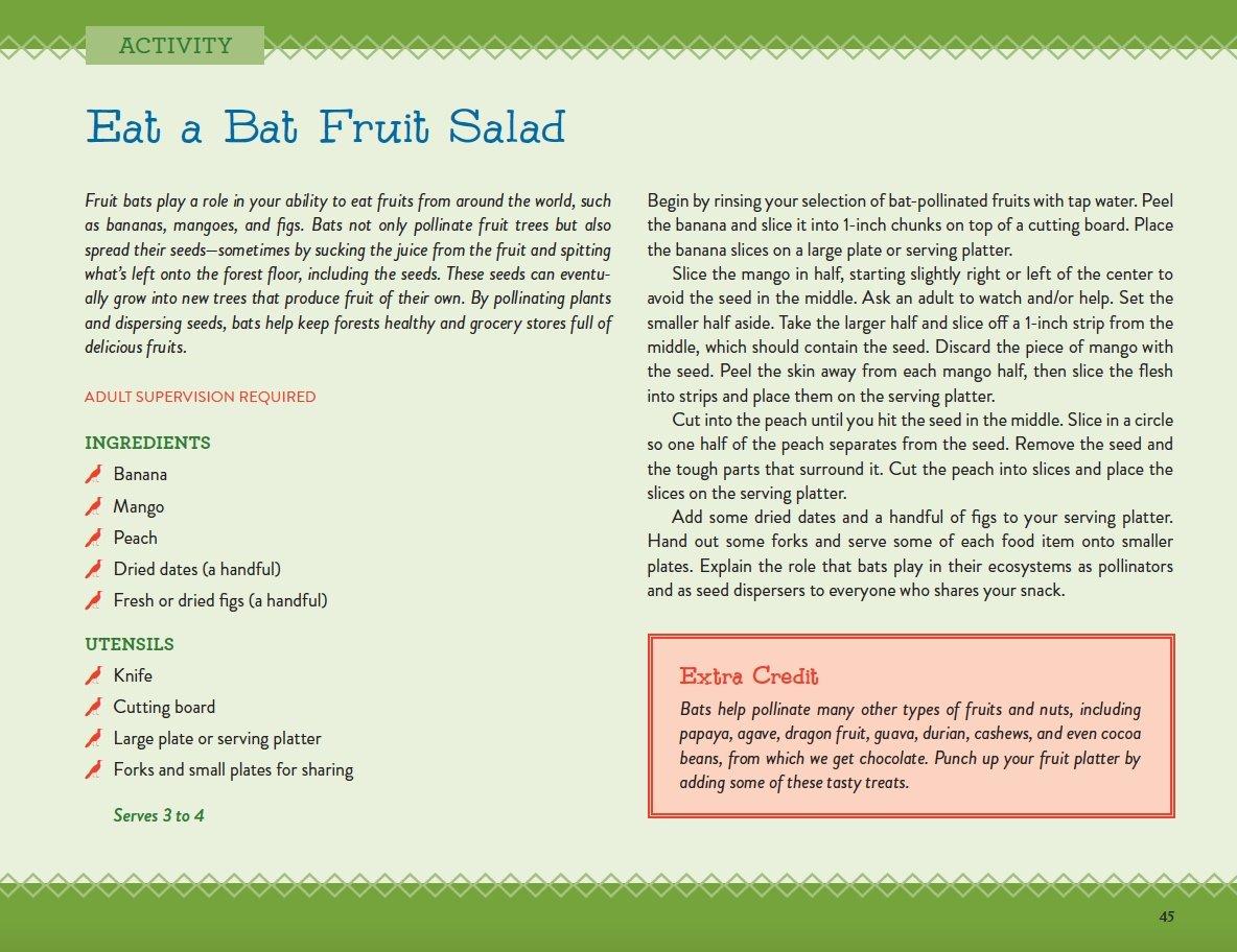 Bat Fruit Salad Activity