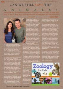 Zoology for Kids in Bambu Magazine