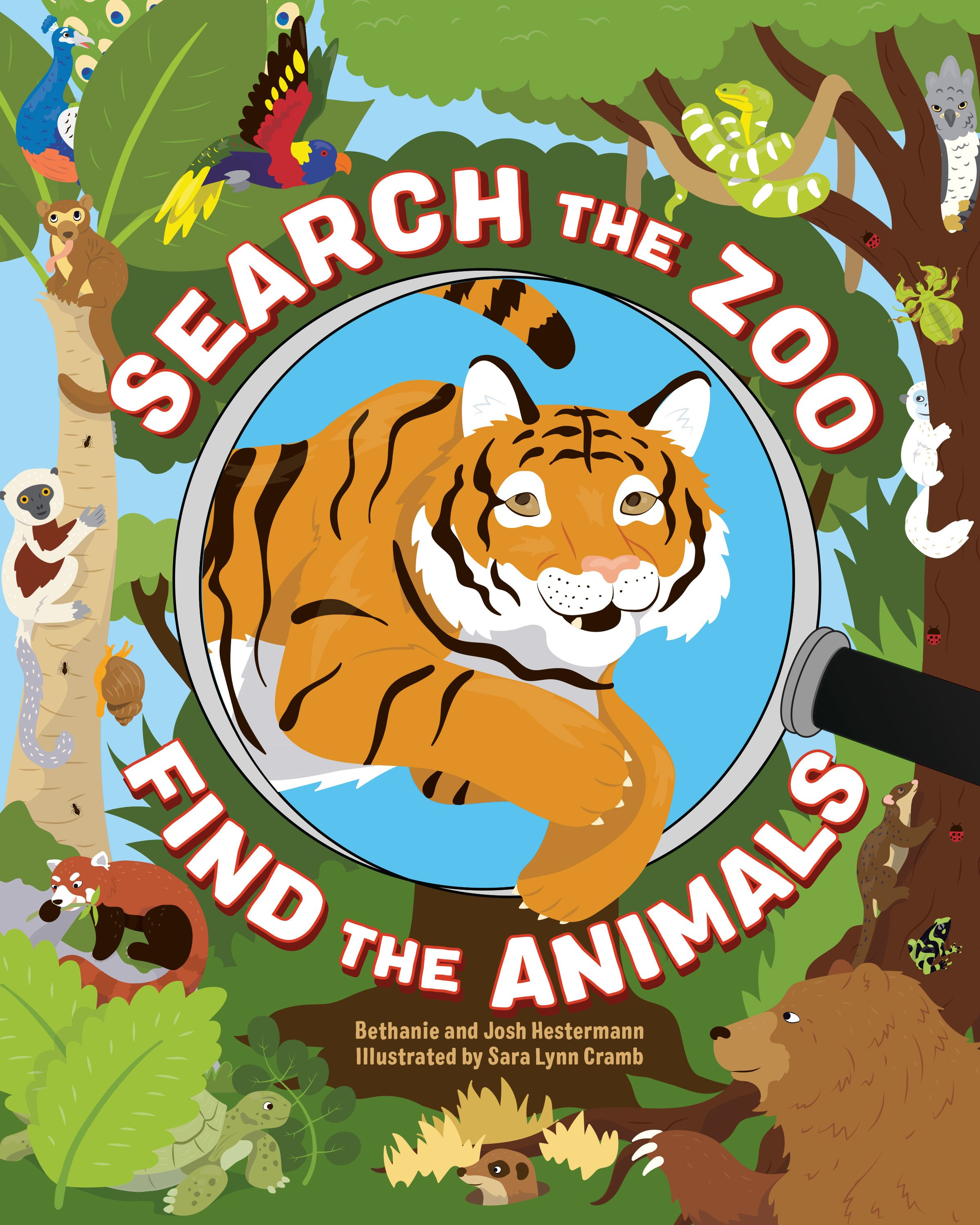 Search the Zoo: Find the Animals