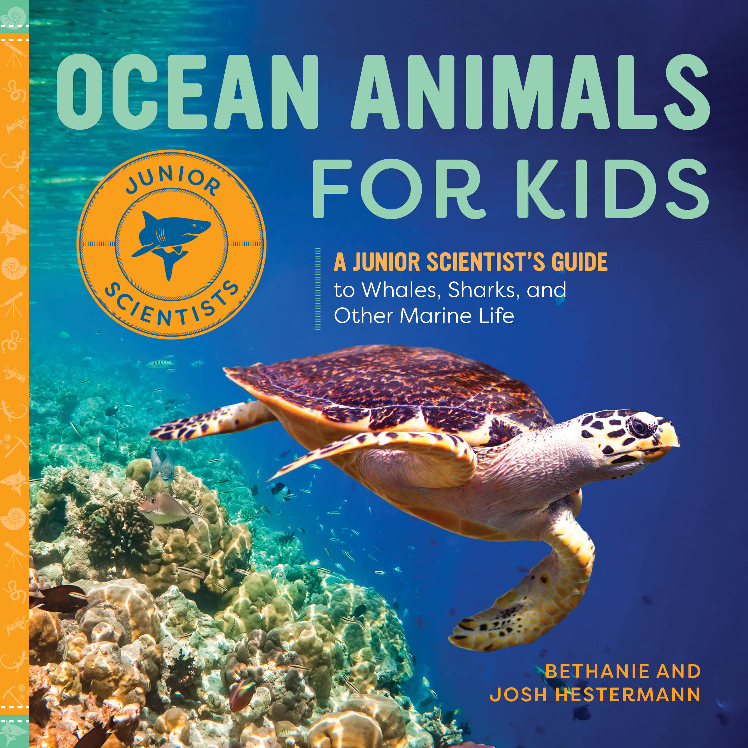 Ocean Animals for Kids Cover