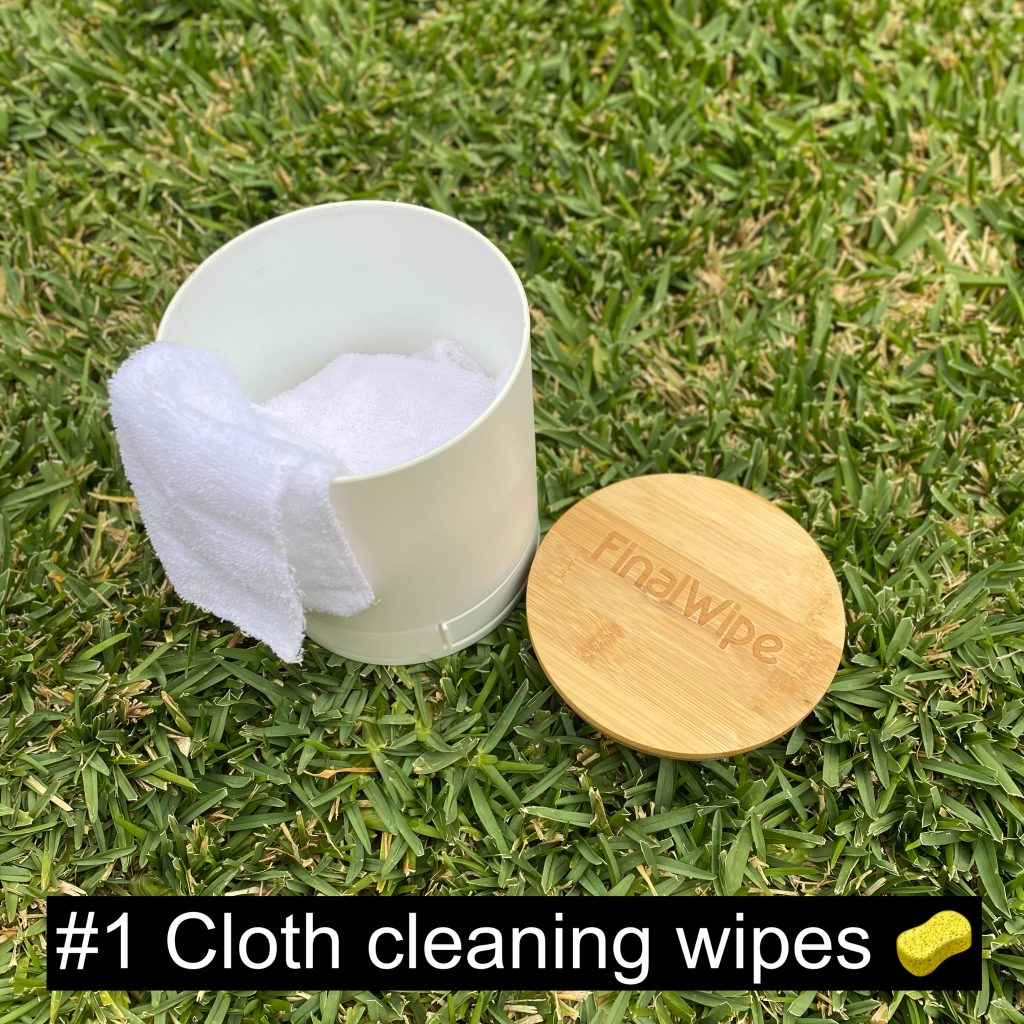 Cloth cleaning wipes