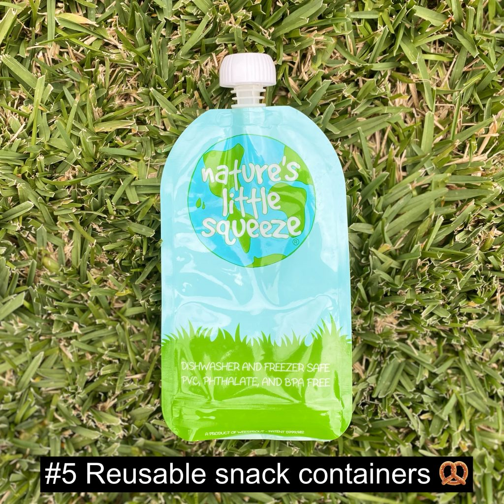 Reusable snack containers